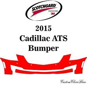 3M Scotchgard Paint Protection Film Clear Bra Pre-Cut Kit 2015 2016 Cadillac ATS