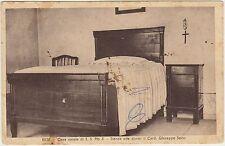 RIESE - CASA NATALE DI S.S.PIO X - STANZA DEL CARD.SARTO (TREVISO) 1941