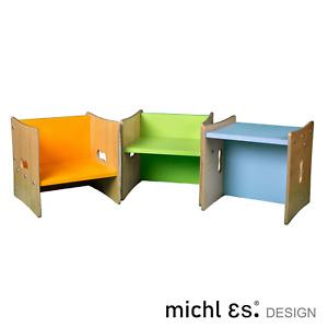 Multistool - Kinderstuhl Wendehocker Kindertisch Kindertritt höhenverstellbar
