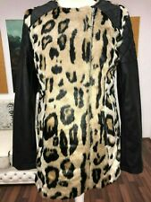 Schal Winterschal Plüsch Pelz lang mit Gummizug 3 Farben Leopard