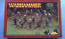Warhammer Beastmen Bestigors x10 metal oop