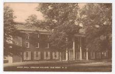 Grier Hall Erskine College Due West South Carolina postcard