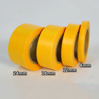 Tape Tape Painting Accessories Plaster/Paper Yellow Model/Masking Hobby Durable