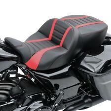 Sitzbank für Harley CVO Street Glide 15-20 Craftride TG3 in schwarz-rot