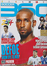 SOCCER 360 MAGAZINE CANADIAN #50 2014, BRASIL 2014 WORLD CUP COUNTDOWN.