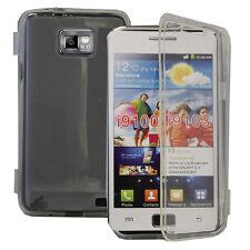 Housse Coque Portefeuille Livre TRANSPARENT Samsung Galaxy S2 i9100/ i9105G