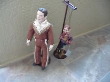 Vintage DANBURY MINT 1999 Howdy Doody & Buffalo Bob Dolls Complete with Stands