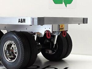 1/14 Tamiya Carson Custom Twin Axle Trailer, Assembled 1030mm Long