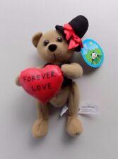 "Peek A Boo Bear Groom "" Forever Love"" 8'' Plush Stuffed Animal"