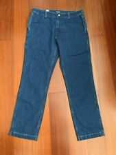 Rare Sample Levis Denim Jeans Sz 32 X 32 New Big Pockets Straight Leg SF Lvc