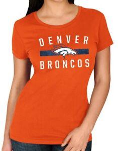 "Denver Broncos Women's Majestic NFL ""Franchise Fit 3"" Short Sleeve T-shirt"