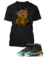 Chronic Bear To match Air Jordan 9 Dream It Do It Shoe Mens Pro Club  Tee Shirt