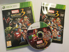 XBOX 360 GAME MARVEL Vs CAPCOM 3 FATE OF TWO WORLDS +BOX INSTRUCT'S COMPLETE VGC