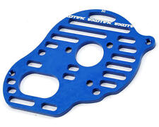 "Exotek 1490BLU B5M ""Flite"" Aluminum Vented Motor Plate (Blue) (3-Gear)"