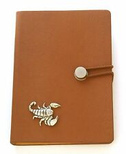 Scorpio The Scorpion Notebook A6 Size Star Sign Gift Travel Book