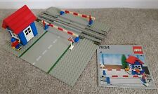 Vintage LEGO 7834 Train Level Crossing With Instruction Manual