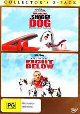 The Shaggy Dog / Eight Below * NEW DVD * (Region 4 Australia)