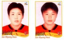 Fehldruck Nr. 214 - Jon Myong Hwa - Panini Fußball Frauen WM 2011 Deutschland