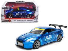 2009 NISSAN GT-R (R35) BEN SOPRA BLUE JDM TUNERS 1/24 MODEL CAR BY JADA 98647