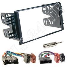 Kia carnival Sorento Spectra coche doble DIN radio diafragma + isoadapter kit de integracion
