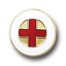 Red Cross Lapel Pin Medical Insignia Emblem American Volunteers 5021 New