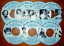 MARSHA HUNT on the air - Vintage Radio Shows OTR-CDs
