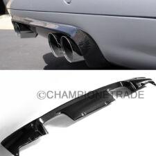 US Carbon Fiber Trunk Bumper Lip Diffuser Exhaust Cover for 01-06 BMW E46 M3 CT