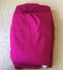 2-Piece Fuschia Pink Full Sheet Set (Fitted/Flat), Mainstay, 100% Polyester