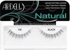 (LOT OF 72) Ardell Natural Lashes #108 False Fake Eyelashes Black Short Fashion