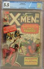 X-men #5 CGC 5.5 FN- Magneto Scarlet Witch Quicksilver 2036107018 OW to W