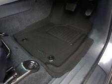 Fits Toyota Hilux dual cab 2015 - 2018 Rubber Floor Mats Black 3D - Auto Only