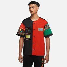 Nike Sportswear Urban Jungle Reissue Top Men's Black Chile Red Activewear Casual