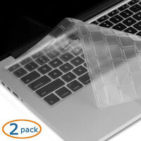 "Transparent-CLEAR Keyboard Cover for MacBook Pro 13"" 15"" 17"" Air 13'' iMac 2Pack"