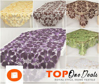 Amazing Table Runners Tablecloths Square Oval Table Decor Living Dining Room