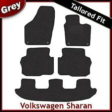 Volkswagen VW Sharan Tailored Fitted Carpet Car Mats GREY (2011 2012 ...)