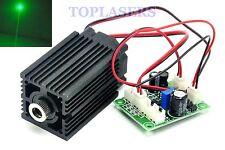 12V 532nm 80mW Green Laser Diode Module Stage Lasers Long-Time Working w/ Fan