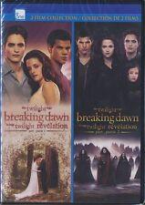 Twilight: Breaking Dawn : Part 1 & 2 (DVD, 2014, Canadian) BRAND NEW