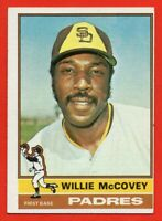 1976 Topps #520 Willie McCovey EX-EX+ HOF San Diego Padres FREE SHIPPING