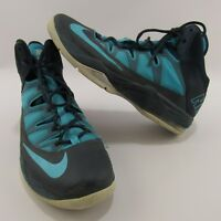 Nike Air Max Stutter Step Basketball Shoes Size 11.5 Blue Sneakers High Tops