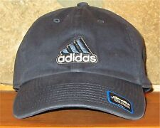 adidas climalite Ball Cap Adjustable Slouch Hat Golf 100% Cotton Faded Navy