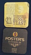 x100 FOSTERS FOSTER'S FRIDAY - NEW IN SEALED PACK BEERMATS // COASTERS