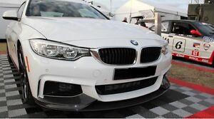 Spoilerlippe für BMW 4er F32 F33 F36 Lippe M - Performance Schwert Paket Spoiler