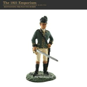 1:30 Metal W.Britain American Revolution British Army Dragoon Figure RW-59