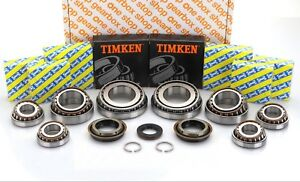 VAUXHALL M32 UPRATED O.E.M. SNR GEARBOX REBUILD KIT 8 BEARINGS 25MM INPUT