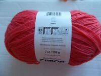 Caron Kindness yarn, Tomato, 1 skein  (345 yds)
