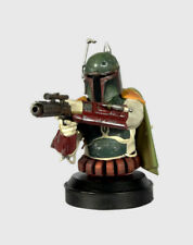 SWH102 BOBA FETT BUST COLLECTION STAR WARS NEW LUXE BOUNTY HUNTER