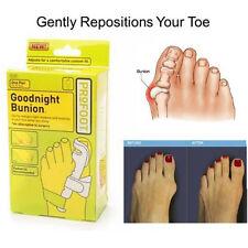 2 PACKS Efficacious GoodNight Adjustable Bunion Regulator Adjust Toe Pain Relief