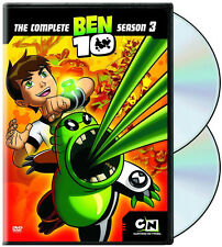 Ben 10 - Season 3 (DVD 2 disc) NEW sold as is