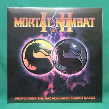 Mortal Kombat I & II 1 & 2 Arcade Game Soundtrack Smoke Variant Vinyl Record LP