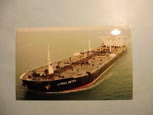 J. PAUL GETTY (1) fotoflite MHI NAGASAKI SHIPYARD & ENGINE WORKS - NAGASAKI, JAP